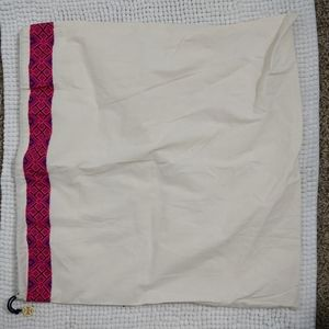 Tory Burch Dust Bag with Pink Design and Gold